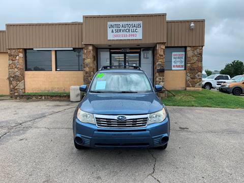 2010 Subaru Forester for sale in Louisville, KY