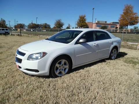2011 Chevrolet Malibu for sale at LA PULGA DE AUTOS in Dallas TX