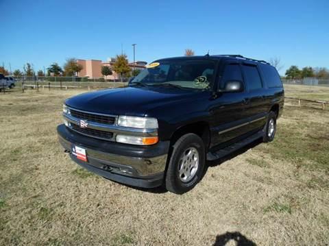 2005 Chevrolet Suburban for sale at LA PULGA DE AUTOS in Dallas TX