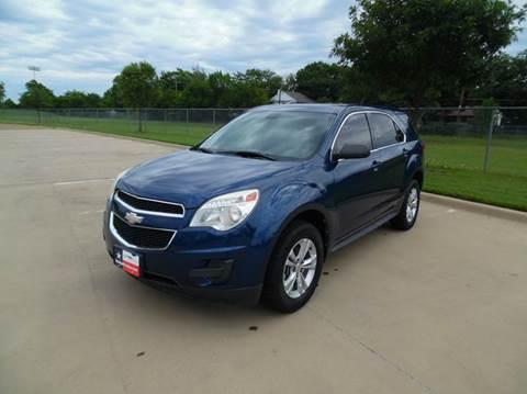 2010 Chevrolet Equinox for sale at LA PULGA DE AUTOS in Dallas TX