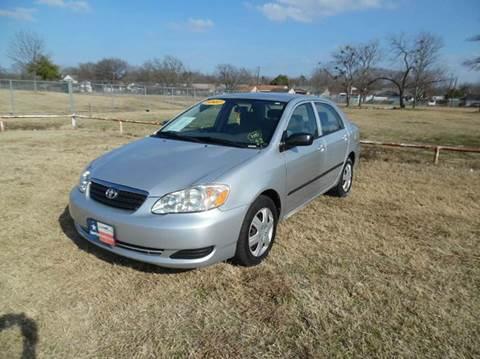2007 Toyota Corolla for sale at LA PULGA DE AUTOS in Dallas TX