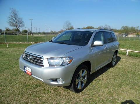 2008 toyota highlander for sale in dallas tx. Black Bedroom Furniture Sets. Home Design Ideas