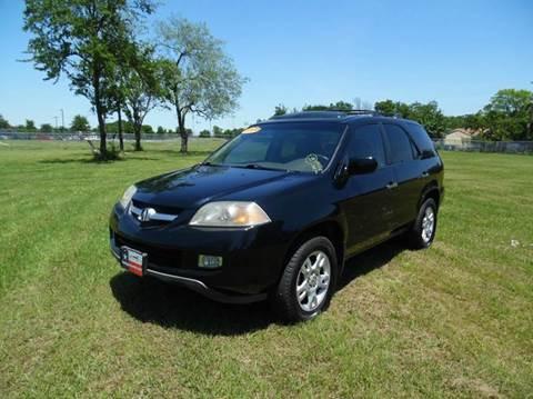 2004 Acura MDX for sale at LA PULGA DE AUTOS in Dallas TX