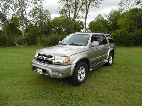 2002 Toyota 4Runner for sale at LA PULGA DE AUTOS in Dallas TX