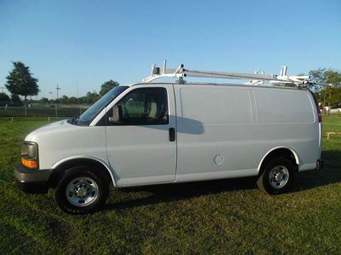 2011 Chevrolet Express Cargo for sale at LA PULGA DE AUTOS in Dallas TX
