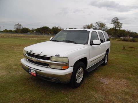 2004 Chevrolet Tahoe for sale at LA PULGA DE AUTOS in Dallas TX
