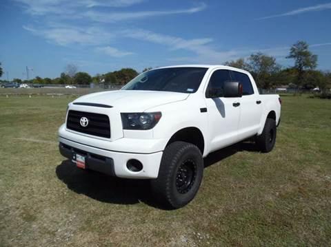 2007 Toyota Tundra for sale at LA PULGA DE AUTOS in Dallas TX