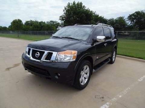 2008 Nissan Armada for sale at LA PULGA DE AUTOS in Dallas TX