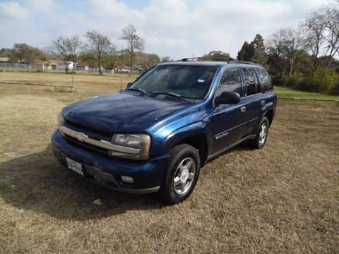 2003 Chevrolet TrailBlazer for sale at LA PULGA DE AUTOS in Dallas TX