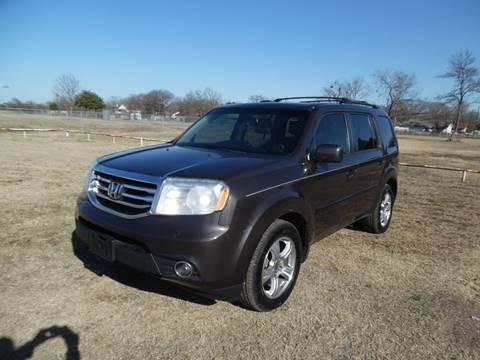 2012 Honda Pilot for sale at LA PULGA DE AUTOS in Dallas TX