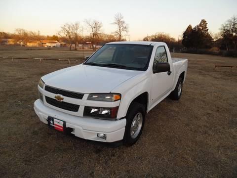 2007 Chevrolet Colorado for sale at LA PULGA DE AUTOS in Dallas TX