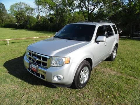2009 Ford Escape for sale at LA PULGA DE AUTOS in Dallas TX