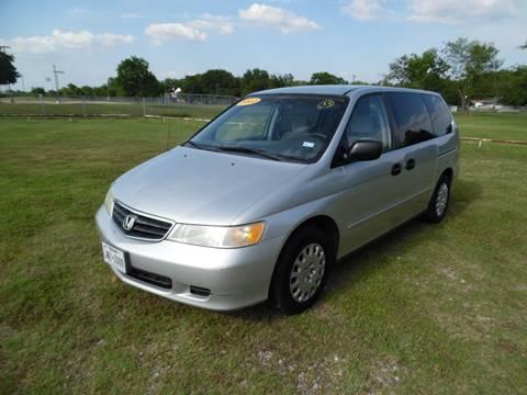 2003 Honda Odyssey for sale at LA PULGA DE AUTOS in Dallas TX