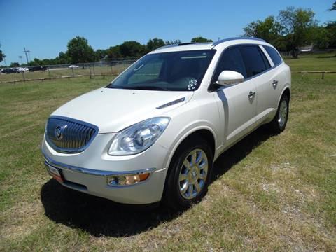 2012 Buick Enclave for sale at LA PULGA DE AUTOS in Dallas TX