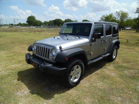 2015 Jeep Wrangler Unlimited for sale in Dallas, TX