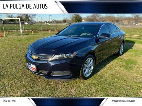 2017 Chevrolet Impala LT for sale at LA PULGA DE AUTOS in Dallas TX