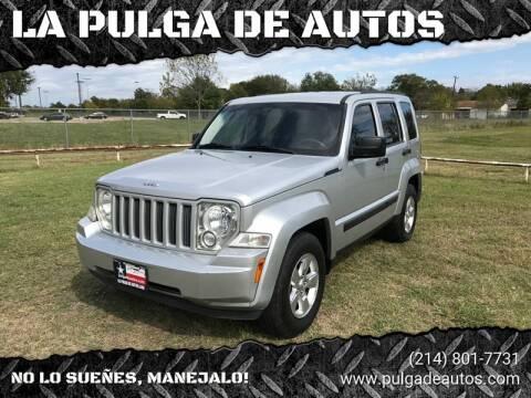 2012 Jeep Liberty Latitude for sale at LA PULGA DE AUTOS in Dallas TX