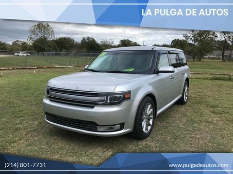 2013 Ford Flex Limited for sale at LA PULGA DE AUTOS in Dallas TX
