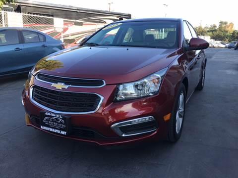 2015 Chevrolet Cruze for sale in Davis, CA