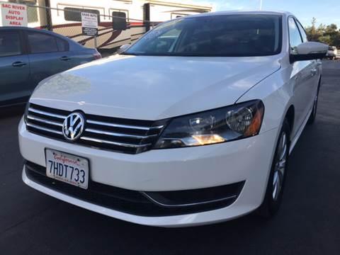 2014 Volkswagen Passat for sale in Davis, CA
