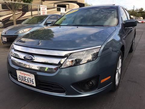2012 Ford Fusion for sale in Davis, CA