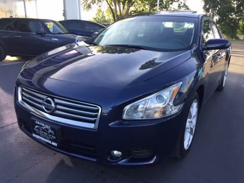 2012 Nissan Maxima for sale at Sac River Auto in Davis CA