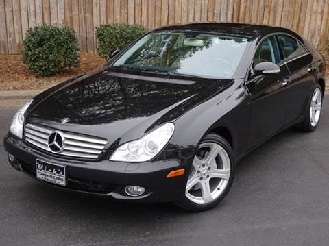 2006 Mercedes-Benz CLS for sale at Mich's Foreign Cars in Hickory NC