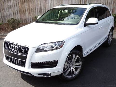 2013 Audi Q7 for sale at Mich's Foreign Cars in Hickory NC