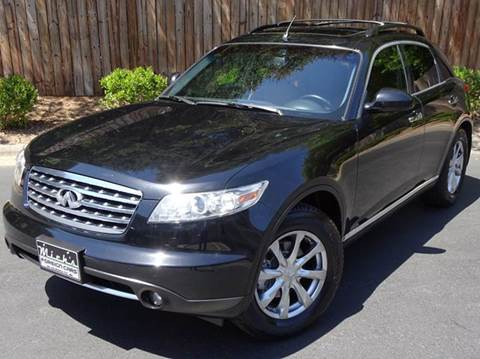 2007 Infiniti FX35 for sale at Mich's Foreign Cars in Hickory NC