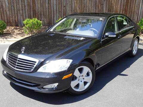 2007 Mercedes-Benz S-Class for sale at Mich's Foreign Cars in Hickory NC