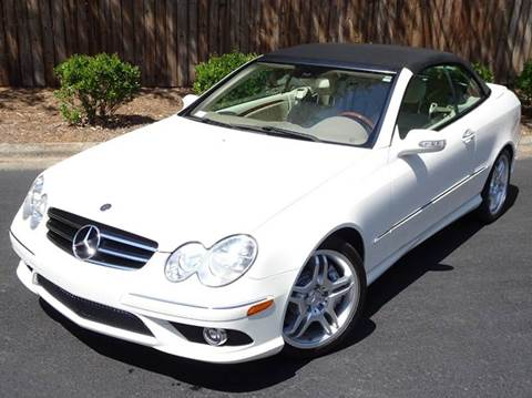 2009 Mercedes-Benz CLK for sale at Mich's Foreign Cars in Hickory NC