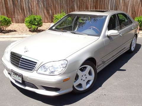 2004 Mercedes-Benz S-Class for sale at Mich's Foreign Cars in Hickory NC