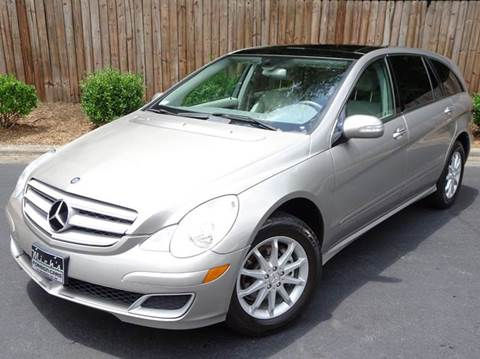 2006 Mercedes-Benz R-Class for sale at Mich's Foreign Cars in Hickory NC