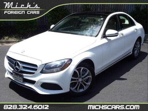 2017 Mercedes-Benz C-Class for sale at Mich's Foreign Cars in Hickory NC