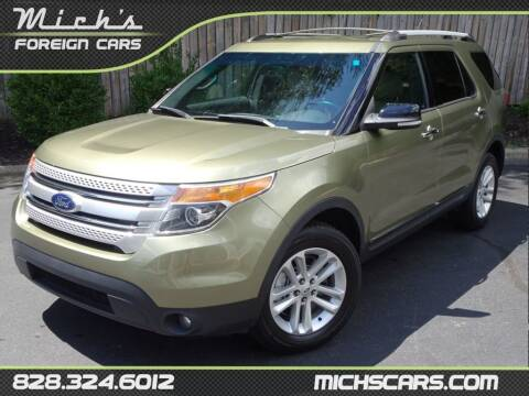 2013 Ford Explorer for sale at Mich's Foreign Cars in Hickory NC