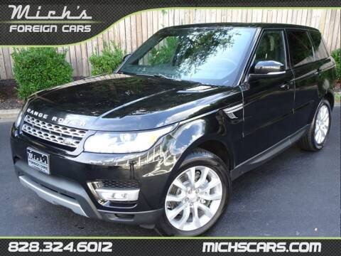 2014 Land Rover Range Rover Sport for sale at Mich's Foreign Cars in Hickory NC