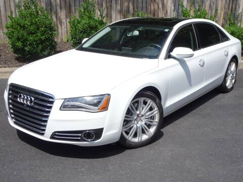 2014 Audi A8 L for sale at Mich's Foreign Cars in Hickory NC