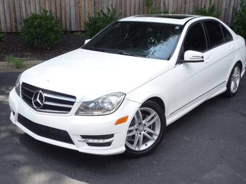 2014 Mercedes-Benz C-Class for sale at Mich's Foreign Cars in Hickory NC