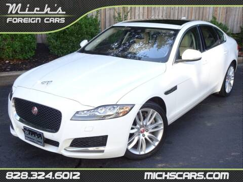 2017 Jaguar XF for sale at Mich's Foreign Cars in Hickory NC