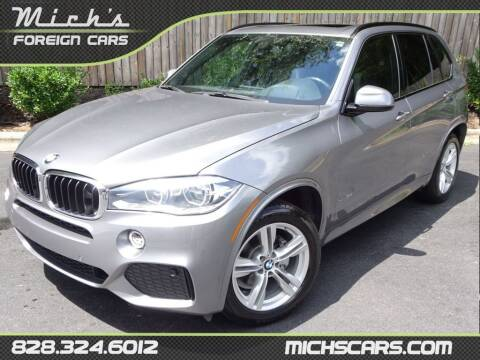 2015 BMW X5 for sale at Mich's Foreign Cars in Hickory NC