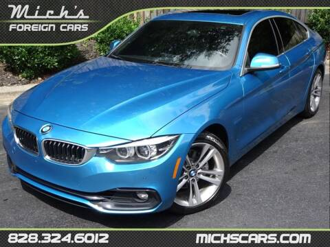 2018 BMW 4 Series for sale at Mich's Foreign Cars in Hickory NC