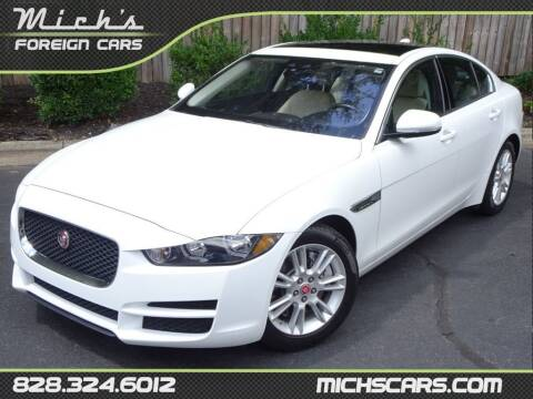 2018 Jaguar XE for sale at Mich's Foreign Cars in Hickory NC