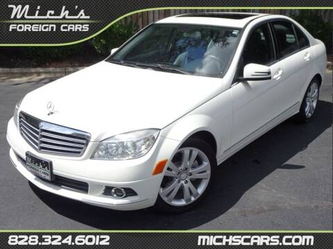 2011 Mercedes-Benz C-Class for sale at Mich's Foreign Cars in Hickory NC