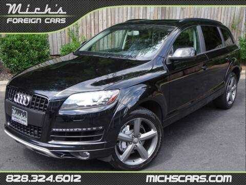 2015 Audi Q7 for sale at Mich's Foreign Cars in Hickory NC