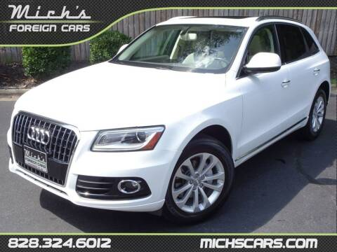 2016 Audi Q5 for sale at Mich's Foreign Cars in Hickory NC