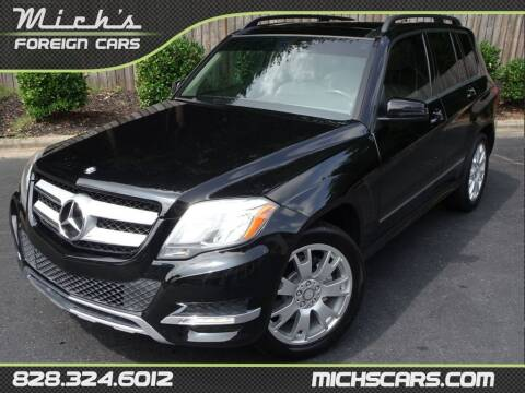 2013 Mercedes-Benz GLK for sale at Mich's Foreign Cars in Hickory NC
