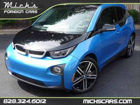 2017 BMW i3 for sale at Mich's Foreign Cars in Hickory NC