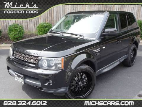 2013 Land Rover Range Rover Sport for sale at Mich's Foreign Cars in Hickory NC