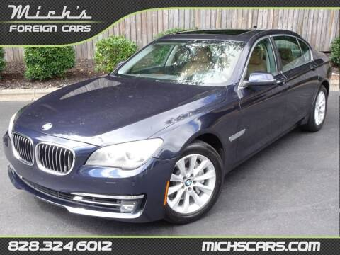 2013 BMW 7 Series for sale at Mich's Foreign Cars in Hickory NC
