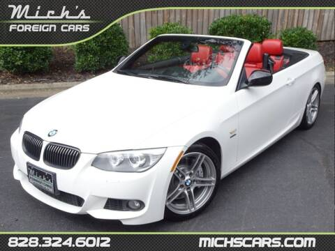 2013 BMW 3 Series for sale at Mich's Foreign Cars in Hickory NC